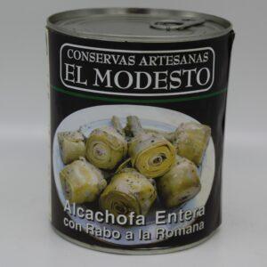 alcachofas romana