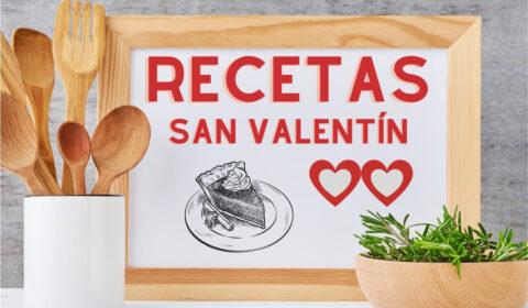 las mejores recetas de san valentín