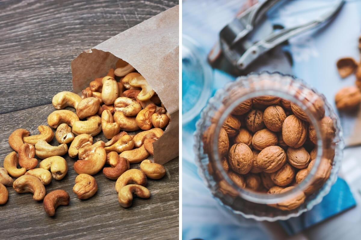 Distintas formas de conservar frutos secos
