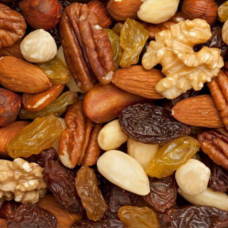 Consejos para conservar frutos secos.
